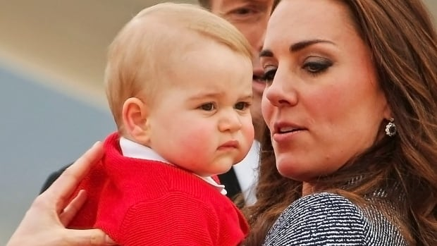 Catherine, the Duchess of Cambridge, holds her baby Prince George. Research shows pregnancy can affect women's brains.