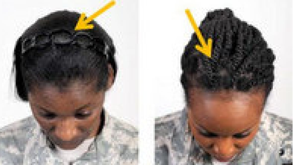 The Pentagons New Target Hairstyles Worn By Black Women