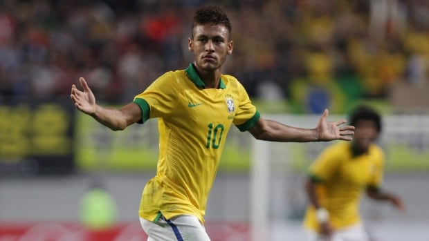Brazil's Neymar is expected to be one of the stars of the 2014 FIFA World Cup.