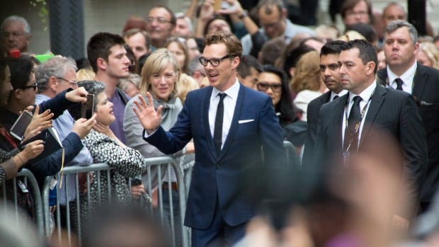 Benedict Cumberbatch, seen here greeting fans in 2014, is among the stars expected at TIFF 2015