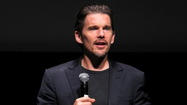 Ethan Hawke is expected to attend an event Monday in Afton, N.S. alongside the leadership from the Paqtnkek First Nation and Mi'qmawei Mawiomi Secretariat.