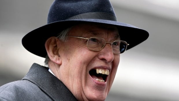 Ian Paisley, shown in 2007, died Friday at the age of 88.