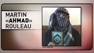 A photo of Martin Rouleau holding the Qu'ran. He had changed his name on Facebook to Ahmad the Converted. (Ummaland)