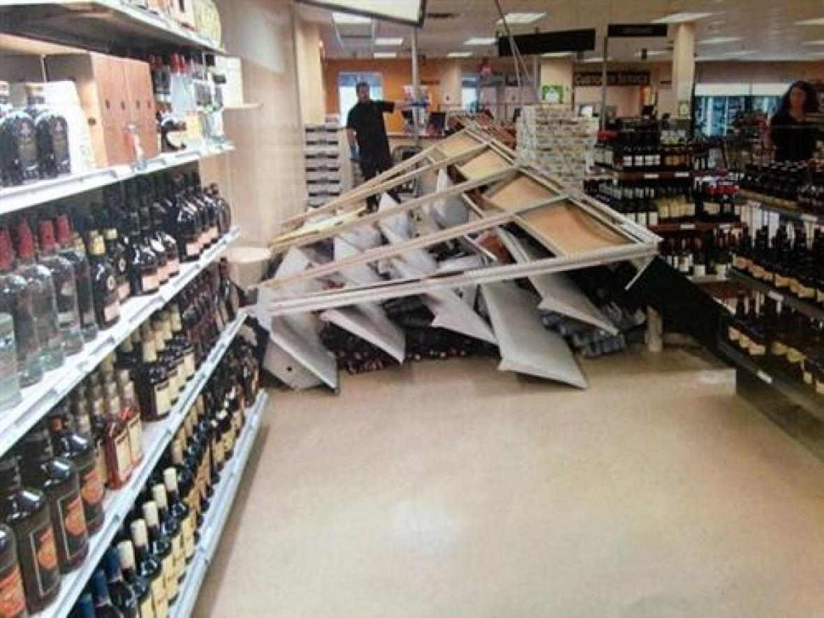 Liquor Store Shelf Collapse In Whitehorse Spills 50k
