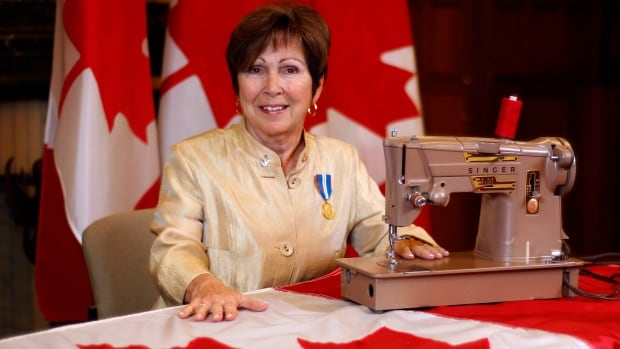 On the Canadian flag's 50th birthday this Sunday, Joan O'Malley will be celebrating with as many as 900 other snowbirds at a party in Panama City Beach, Fla., where she'll most certainly be the belle of the ball given her direct participation in Canadian history.