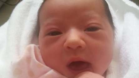Baby Chloe, who was born on an Air Canada flight to Japan, was an unexpected surprise.