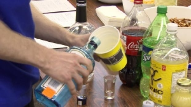 Centre for Addiction and Mental Health researchers were 'surprised' that more than a quarter of the over 10,000 high school students surveyed said they were allowed to drink at home with friends.