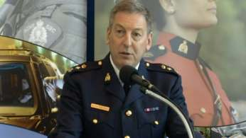 Guns, drugs and cash were seized during this week's raids, which resulted in the arrest of 19 members or associates of organized crime cells, said Supt. Keith Finn of the RCMP's Combined Forces Special Enforcement Unit at a news conference Wednesday.