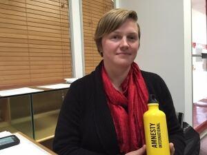 Amnesty International Jacqueline Hansen