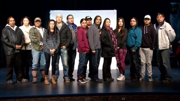 The film features about 50 extras from Maskwacis.