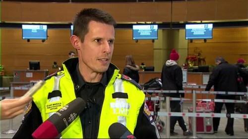 Stuart Brideaux of Calgary EMS