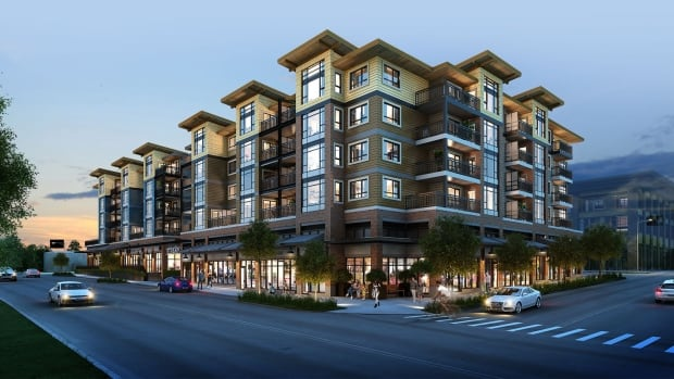 Townline wants to sell condos in The Strand development in Port Moody, B.C., to buyers who don't have the cash for a down payment.