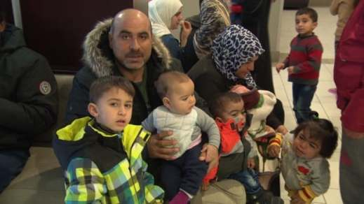 This family is among the 450 Syrian refugees who've arrived in Ottawa since the start of 2016.
