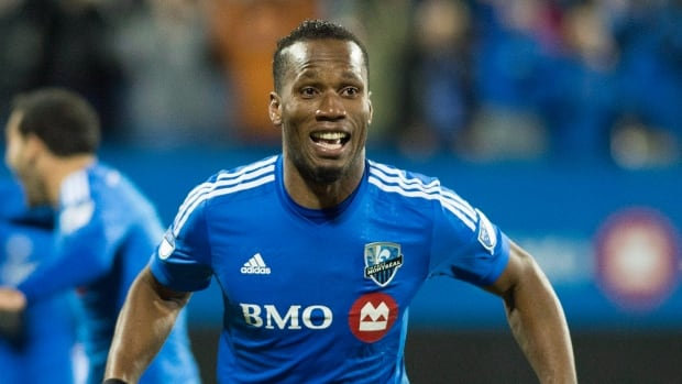 Montreal Impact's Didier Drogba is accused of mismanaging charitable funds.