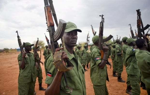 APTOPIX South Sudan Rebels Return