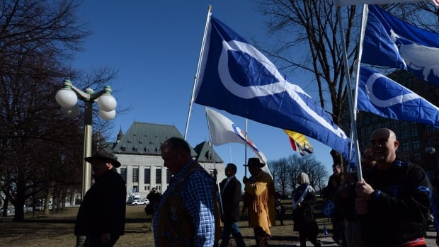 Métis groups say a new report urging Canada to recognize their constitutional rights 'maps out a way forward' to reconciliation.