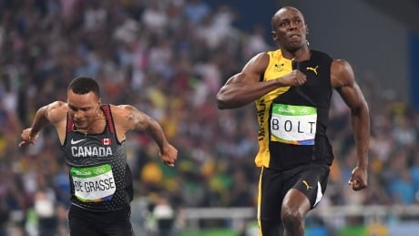 Andre-De-Grasse-Bronze-Usain-Bolt-Gold