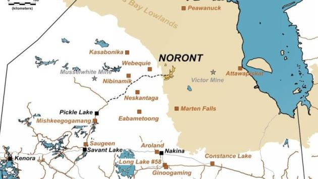 closest to the noront resources claims as shown on this map from the company s website norontresources com active volcanoes in the us map ring of fire