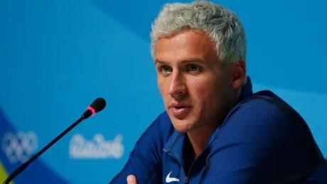 Rio Olympics — Ryan Lochte — Aug. 12, 2016