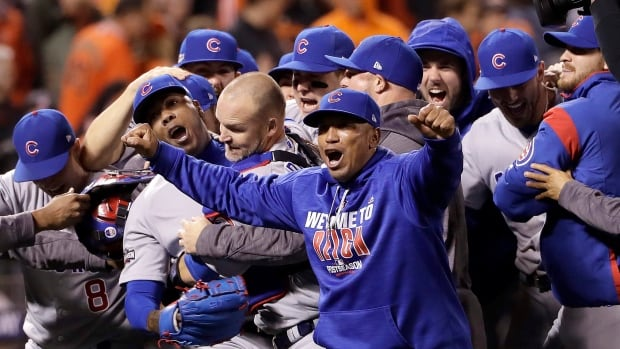 The Chicago Cubs beat the San Francisco Giants 6-5 on Tuesday night in Game 4 to win the NLDS
