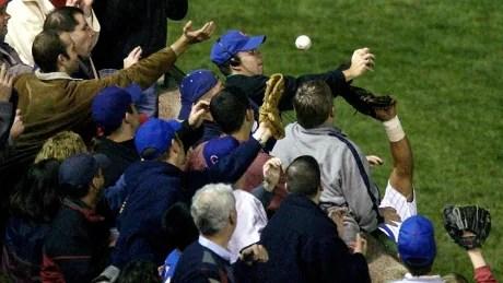 NLCS Missing Bartman Baseball