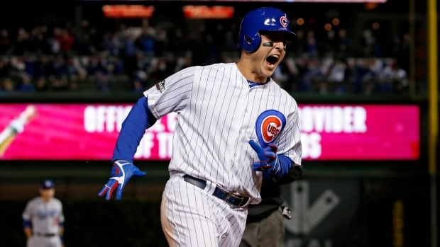 The long-suffering Chicago Cubs advanced to the World Series for the first time in 71 years with a 5-0 victory over the Los Angeles Dodgers on Saturday.