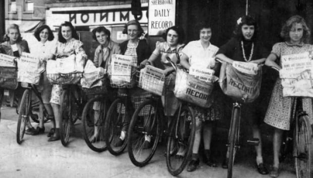 Sherbrooke Record-Delivery-Girls