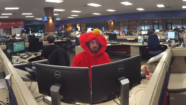 Only One Who Wore A Costume At Work? This Tweet's For You