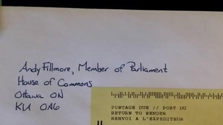 Womans Letter To Halifax MP Keeps Getting Returned By