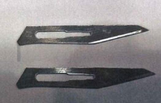 scalpel blades (restricted)