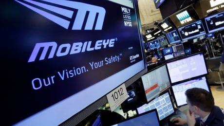 Financial Markets Wall Street Intel Mobileye