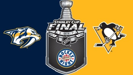 The Pittsburgh Penguins host the Nashville Predators in Game 1 of the  Stanley Cup final on Hockey Night in Canada. Watch coverage on Monday at 8  p.m. ET ...