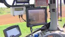 The GPS and auto steer system that the Campbells are using cost between $40,000 and $50,000 dollars when they purchased it seven years ago.