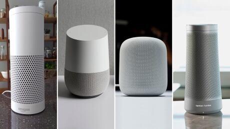 Smart speakers from Amazon, Google, Apple, Harman Kardon