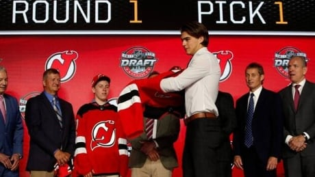 Monday moments: Nico Hischier goes number one, and Lance Stroll drinks from a shoe
