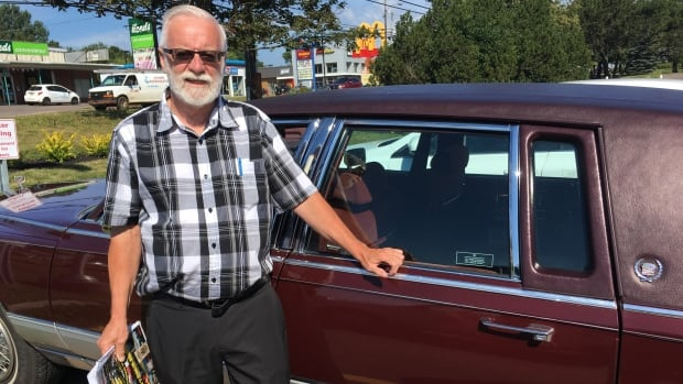 Rudy Croken, president of the P.E.I. Antique Car Club, drove across Canada as part of the 2017 Canadian Coast to Coast tour in his 1991 Cadillac. The tour arrives in Cavendish Sunday.