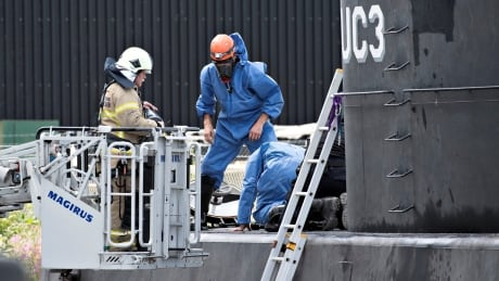 Denmark submarine murder UC3 Nautilus