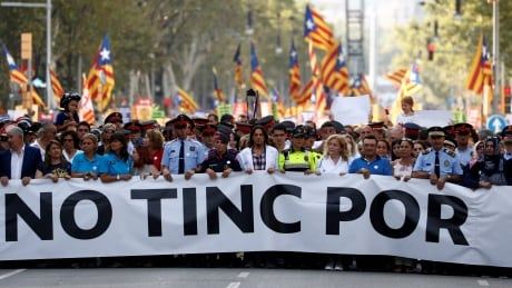 SPAIN-SECURITY/DEMONSTRATION