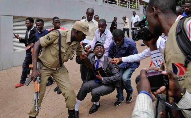Uganda-protests