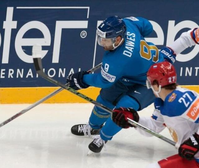 Winnipeg Born Nigel Dawes  Plays For Kazakhstan In The  World Championships After Becoming A Citizen Of The Former Soviet Republic