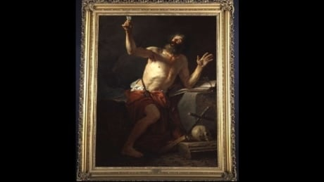Saint Jerome Hears the Trumpet of the Last Judgment by Jacques-Louis David.