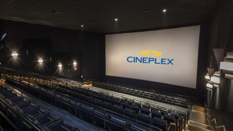 Cineplex recliner auditorium