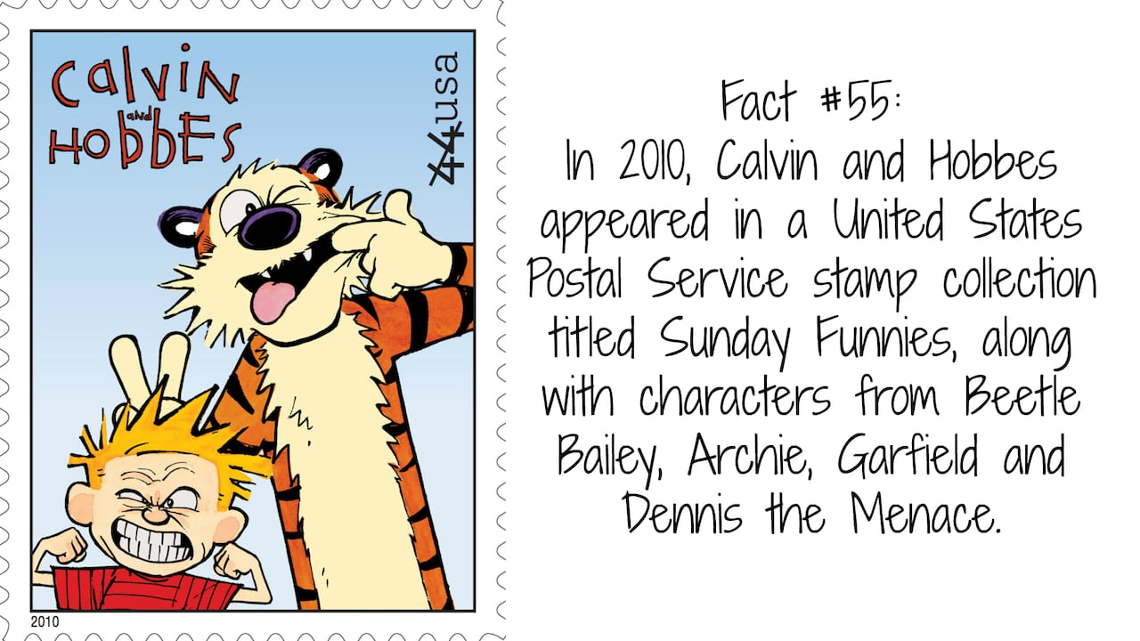 60 Facts About Calvin And Hobbes Creator Bill Watterson Cbc Books
