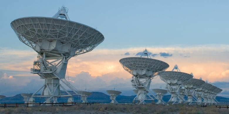 'Ghost particle' reveals source of mysterious cosmic rays very large array vla