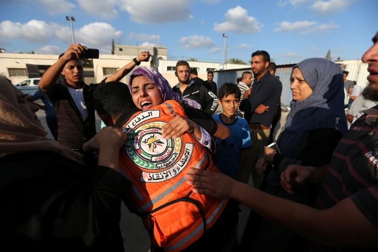 4 Palestinians killed as Israel strikes Gaza after shots fired at soldiers israel palestinians