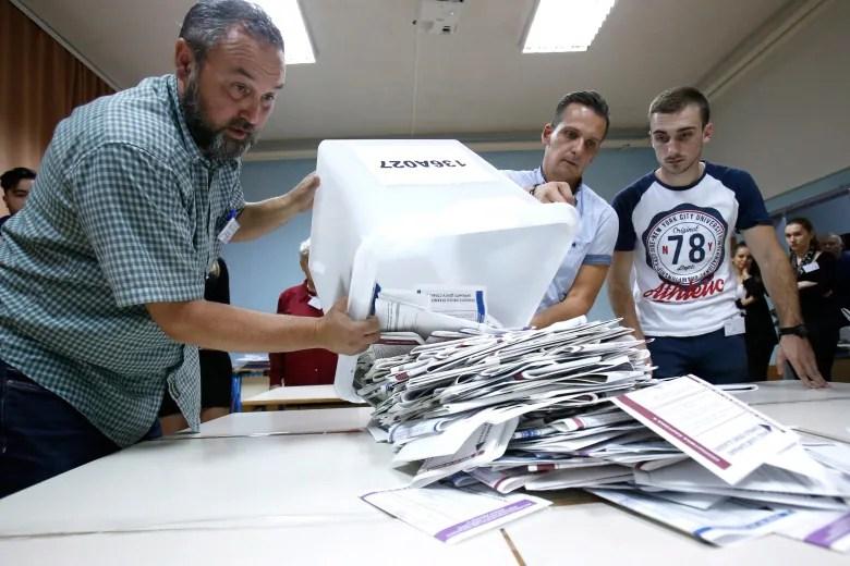 Pro-Russia Serb leader wins seat in Bosnia's presidency bosnia election