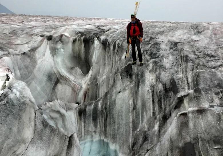 Darkening glaciers: Scientists examine wildfire effect on Canadian ice darkening glaciers