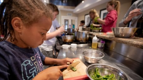 Kids learn to cook at a Toronto cooking school