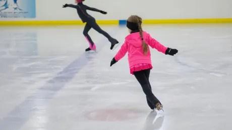 Girl skating