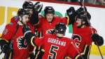 Flames reclaim top spot in Pacific with win over Coyotes | CBC Sports